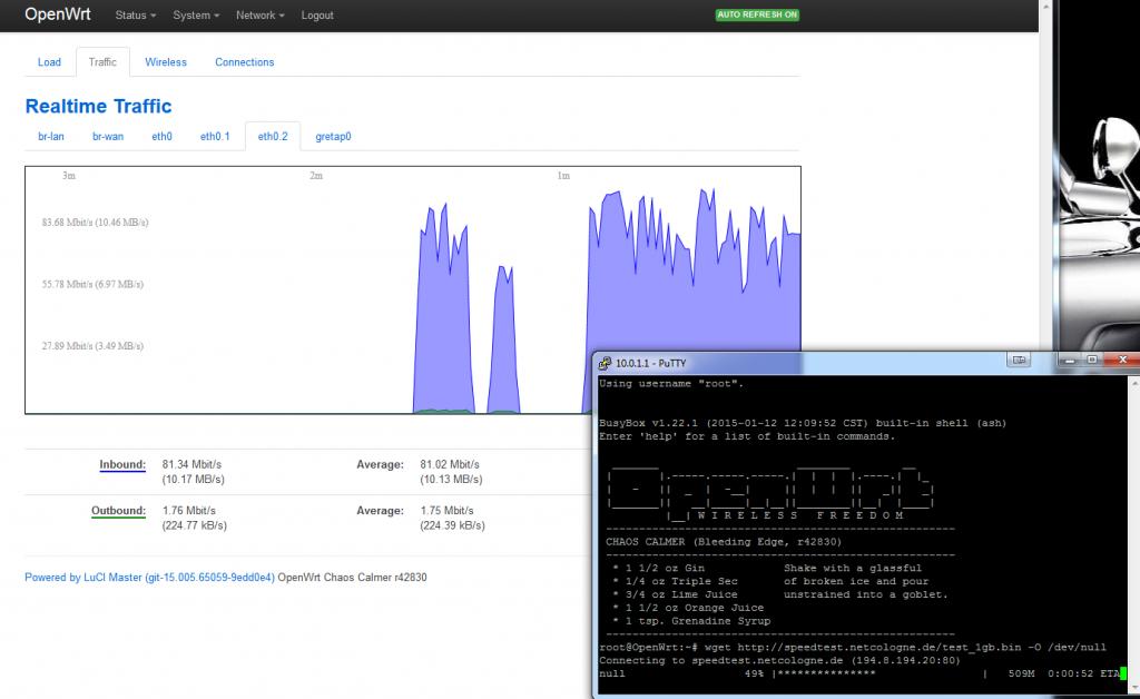 OpenWRT_Speedtest