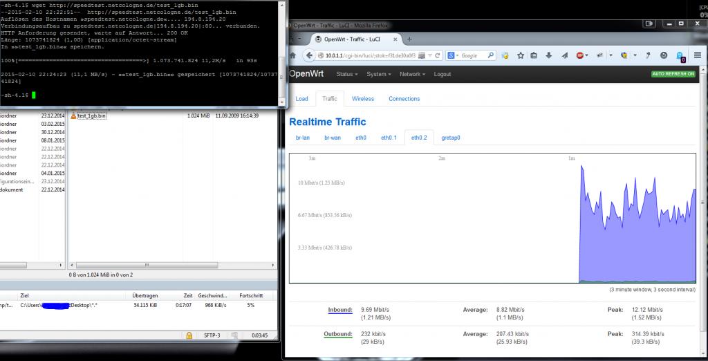 OpenWRT_Speedtest_Server