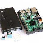 Raspberry Pi 2 und B+ (Plus) Case / Gehäuse, Kühler, Gummifüße