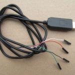 PL2303HX USB to TTL to UART RS232 COM Cable module Converter