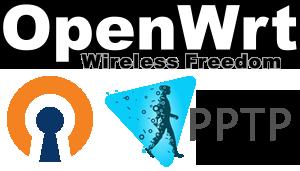 OpenWRT mit OpenVPN, PPTP und Hide.me